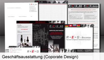 Erstellen von Folien, Visitenkarten, Flyer und Geschäftspapiere