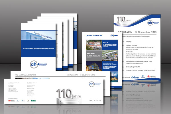 Business Branding set Industriemakler